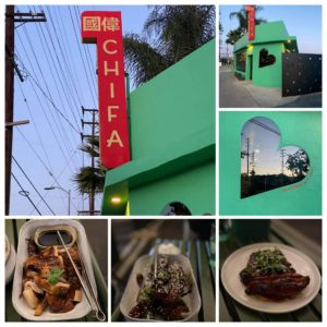 Chifa restaurant, food dishes.